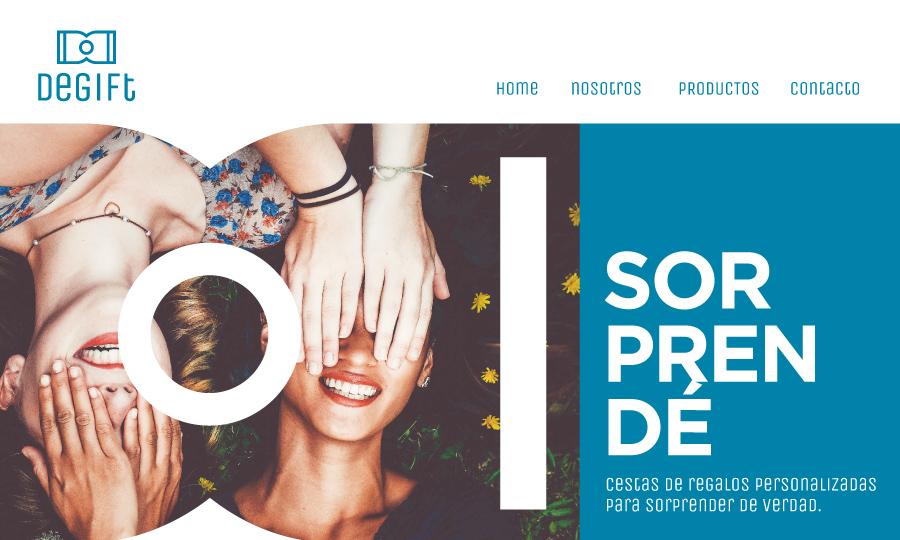 Diseño de página web Degift Regalos