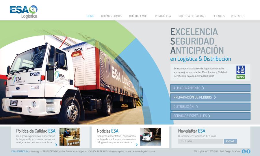 Diseño de página web Esa