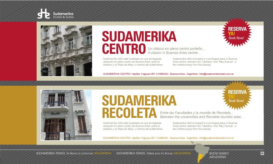 Diseño de página web Sudamerika