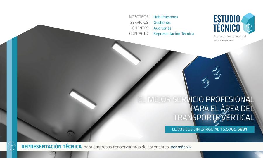 Diseño de página web Estudio Técnico 1